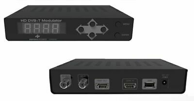 MODULATORE DIGITALE TERRESTRE SKY RF TV HDMI USCITA LOOP FULL HD 1080i/P DP860HD