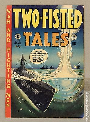 Two Fisted Tales (1950 EC) #32 GD- 1.8