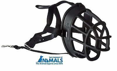 Baskerville Ultra Adjustable Dog Muzzle Basket Style Company of Animals