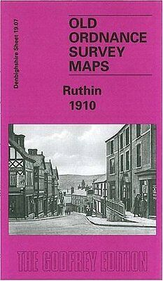 Map Of Ruthin 1910