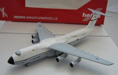 Airplane Herpa Wings 1/500 USAF Forces Lockheed C 5A Galaxy 436th Military
