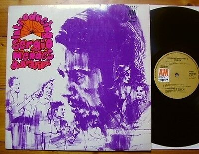 Sergio Mendes & Brasil '66 - Introducing - UK'69 A&M AMLB 1001 - TOP Mint