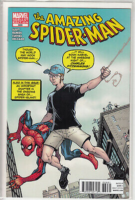 Amazing Spider-Man 669 Todd Nauck Variant (Charles Fitzsimmons) (Vol. 1)