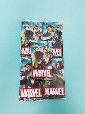 Panini Marvel Heroes 2017 5 x  Booster / 30 Karten Trading Cards
