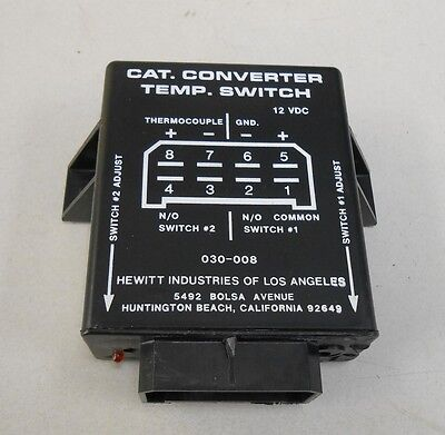030-008-0 Hewitt Industries Cat. Converter Temp. Switch 030-008