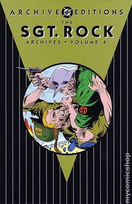DC Archive Editions Sgt. Rock HC (2002-2012 DC) Our Armies at War #4-1ST NM