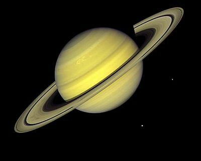 Planet Saturn Voyager 1 8x10 Silver Halide Photo Print