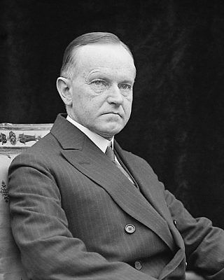 President Calvin Coolidge Portrait 1924 8x10 Silver Halide Photo Print
