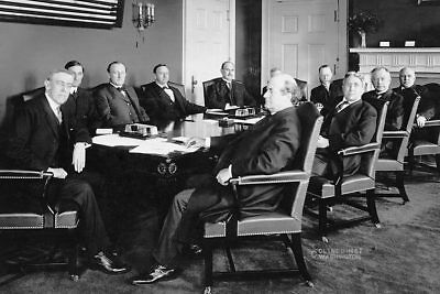 President Woodrow Wilson & Cabinet 8x12 Silver Halide Photo Print