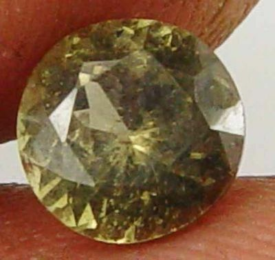 Rare Round Cut Gorgeous Kornerupine 1.25Cts Collectors' Specimen Gem 11090349-Q