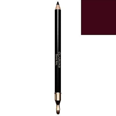 NEW Clarins Crayon Khol Long-Lasting Eye Pencil with Brush 02 Intense Brown