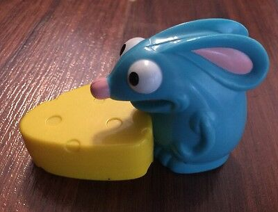 Subway Kids Meal Bear In The Big Blue House Tutter Mouse Chasing Cheese Pvc Toy