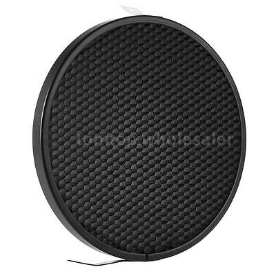 """16.8CM 50° Honeycomb Grid for 7""""Standard Reflector Diffuser Lamp Shade Disc O6Y0"""