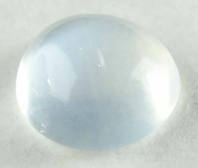 MOONSTONE Natural Clear White Round Cabochon Loose Stones June Birhtstones-Q