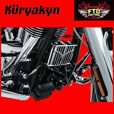 Kuryakyn Chrome Oil Cooler Cover for 14-17' Indian Models 5640