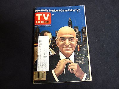 1977 Tv Guide==Kojak==Ex Condition==Northern Indiana  Edition