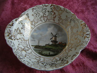 LORD NELSON Ware 'The Mill'  - Gold Gilt BOWL