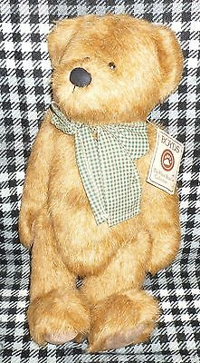 """Boyds Collection Bear - 12"""" Tall - Colin T. Beansley"""