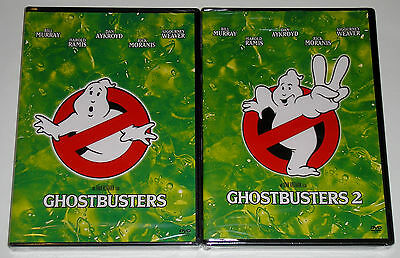 Horror Comedy DVD Lot - Ghostbusters (New) Ghostbusters 2 (New)
