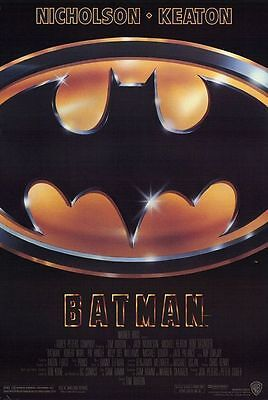 Batman (1989) original movie poster US/French single-sided rolled