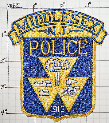 New Jersey, Middlesex Police Dept Patch