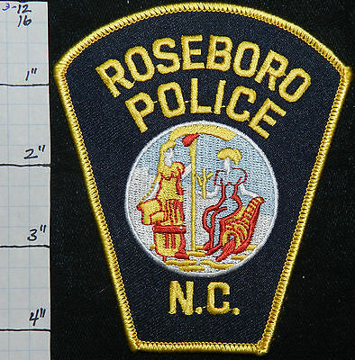 North Carolina, Roseboro Police Dept Patch