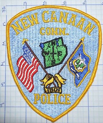 Connecticut, New Canaan Police Dept Patch