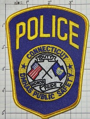 Connecticut, Dept Of Mental Health Police  Patch