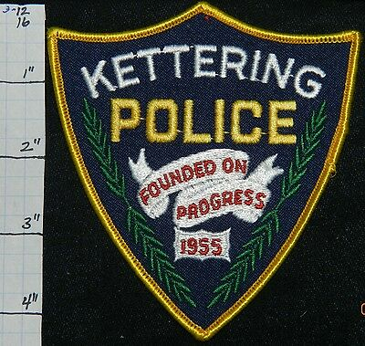 Ohio, Kettering Police Dept Patch