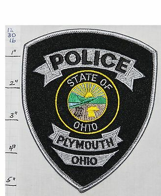 Ohio, Plymouth Police Dept Patch