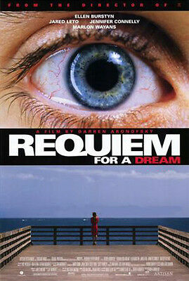 Requiem For A Dream (2000) original movie poster single-sided rolled