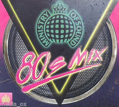 Ministry of Sound - 80s Mix | 4 Disc CD Box Set Album | New & Sealed