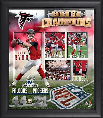 Atlanta Falcons 2016 NFC Conference Champions Framed 15'' x 17'' Collage