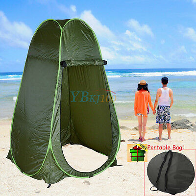 Portable Outdoor Pop Up Changing Tent Shower Camping Hiking Privacy Toilet Room