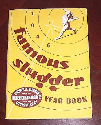 Famous Slugger yearbook 1946