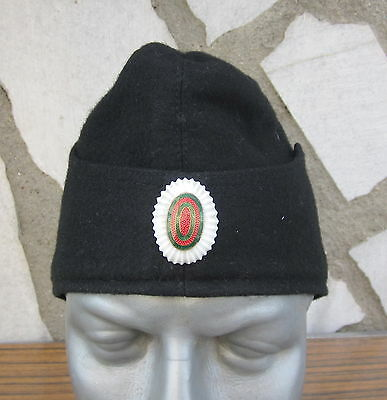 Antique Wwii Royal Bulgarian Navy Marine Troops Hat Cap With Badge - Combat Type