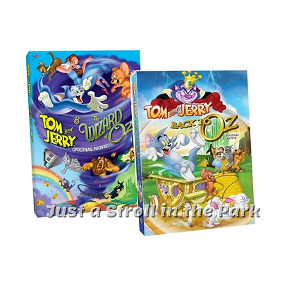 Tom And Jerry Wizard Of Oz Dvd TOM AND JERRY -...