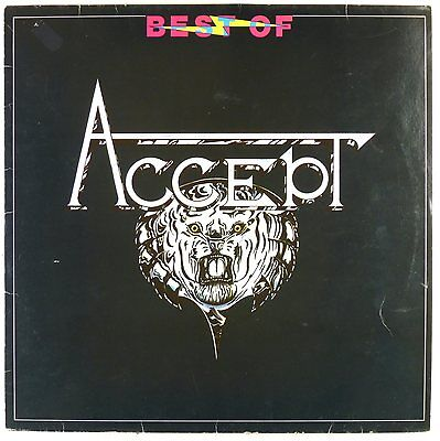 "12"" LP - Accept - Best Of Accept - A3510 - washed & cleaned"