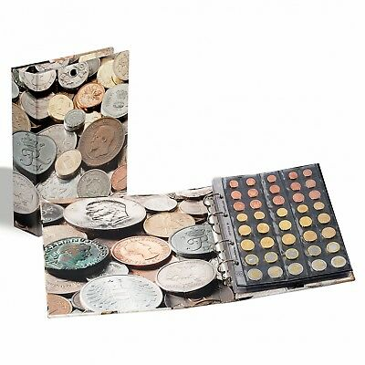 ALBUM OPTIMA COINS WORLD MONEY IMPRIME AVEC 5 FEUILLES OPTIMA ref 340920/