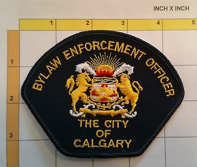Canada Calgary Bylaw Enforcement Officer Police Dept Obsolete Patch