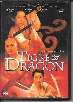 Dvd Zone 2--Tigre Et Dragon--Ang Lee/Yun Fat/Yeoh/Chen/Ziyi