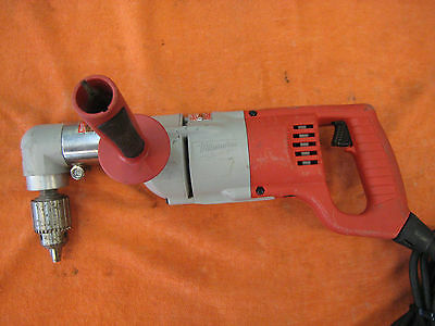 """Milwaukee 1107-1 Corded 1/2"""" 7amp 2-Speed Right Angle Drill"""