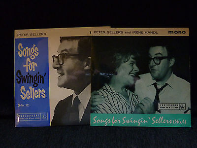 "Peter Sellers ~ Two EP's No2 and No 4  ~  7"" single vinyl ~ Both EX/EX+"