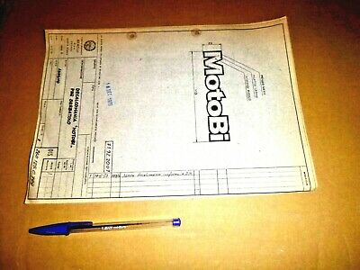 1973  MOTOBI  -  LOGO   motobi  decal  Blueprint