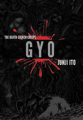 GYO 2-in-1 Deluxe Edition by Junji Ito (English) Hardcover Book Free Shipping!