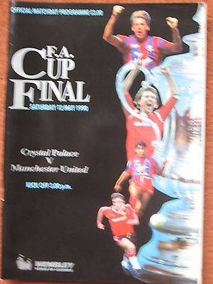 1990 FAC FINAL CRYSTAL PALACE v MANCHESTER UNITED