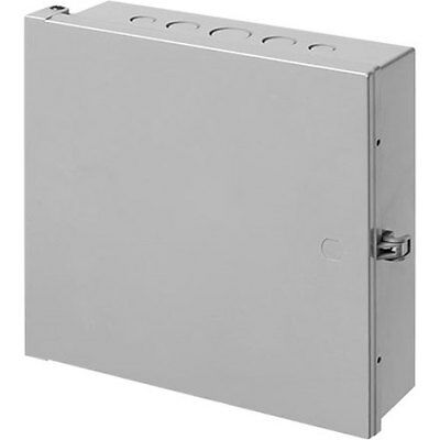 "Arlington EB1212 Heavy-Duty Non-Metallic Enclosure Box, 12"" x 12"", Gray"