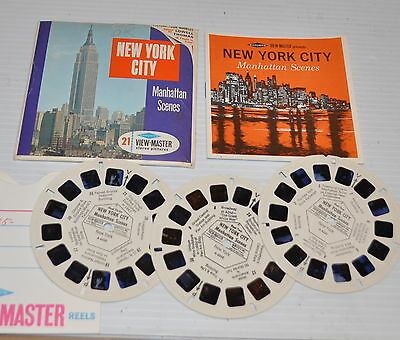- NEW YORK CITY Manhattan Scenes VIEW-MASTER Reels A-653 -