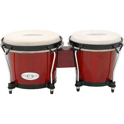 Toca Synergy Series Bongo Set Red LN