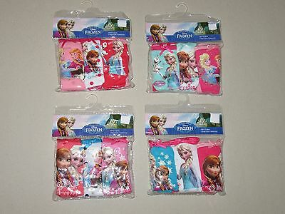 Disney Frozen Girls Pack of 3 Knickers